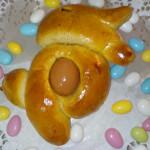 Folar com ovo